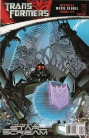 Transformers Movie Sequel Reign of Starscream #4 Cover A (2008) IDW Publishing comic book